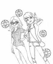 Леди Баг и Сабрина