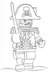 Капитан Барбоса Лего