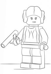Принцесса Лея Лего