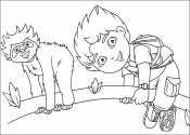 Диего и ленивец