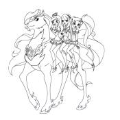 Принцессы на лошади