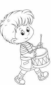 Мальчик и барабан