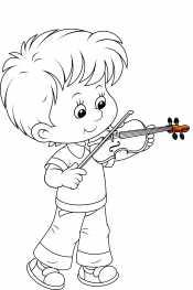 Мальчик и скрипка