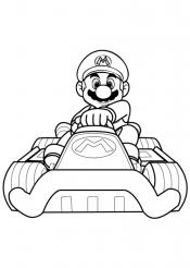 Марио в раскрасках