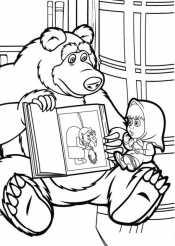 Маша и миша читают