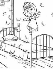 Маша прыгает