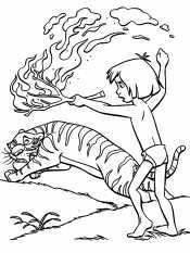 Маугли и Шерхан