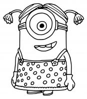 Миньон-девочка
