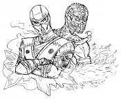 Рисунок Мортал Комбат