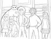 Хиро и друзья