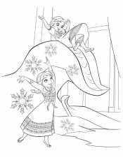 Эльза и Анна в детстве