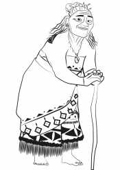 Бабушка Моаны Тала