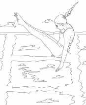 Женщины прыжки в воду