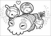 Октонавты помогают каракатице