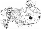 Октонавты помогают рыбке