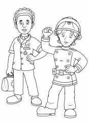 Пожарная Пенни и медсестра Хелен