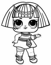 Кукла Лол Фараон
