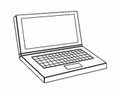 Рисунок ноутбук