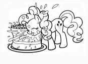 Пинки Пай и торт