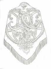 Рисунок Платок