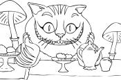 Чеширский кот на чаепитии