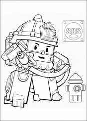 Пожарная машина Рой