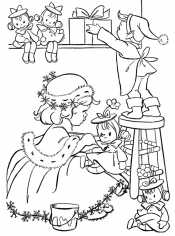 Дети на Рождество