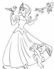Принцесса с птицами