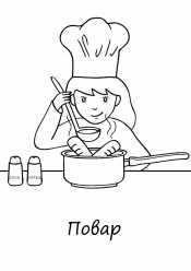 Картинка повар