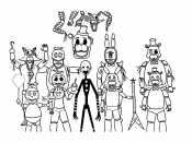 Персонажи аниматроники