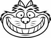 Морда Чеширского кота