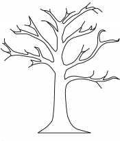 Картинка дерево без листьев