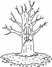 Грустное дерево
