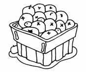 Мандарины в ящике