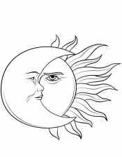 Солнце и месяц