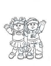 Картинка мальчик и девочка