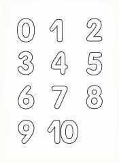 Изучаем цифры