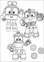 Рисунок Роботы поезда