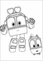 Роботы поезда