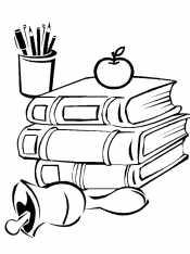 Книги и колокольчик