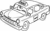 Рисунок Такси