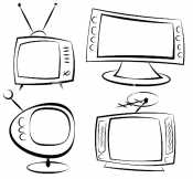 Много телевизоров