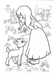 Герда и козленок