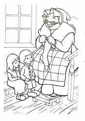 Герда, Кай и бабаушка