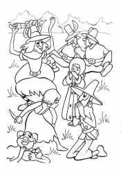 Герда и разбойники