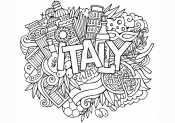 Рисунок Италия