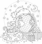 Подарки глобус