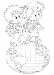 Дети на планете