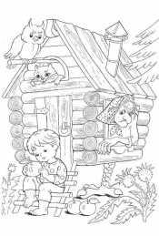Сказка Гуси Лебеди