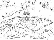 Корабль на луне